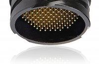 SPK08MPRSST SPK 08 pin вилка панельная, покрытие контактов серебро под пайку, фиксирующее кольцо, контакты вставлены