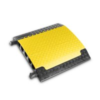 85500 Defender XXL 5ти канальный мощный полиуретановый кроссовер (70х69,6х8,7сm) желтый Adam Hall