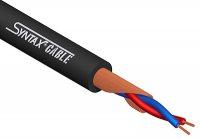 7XSPM02N Кабель SYNTAX микрофонный, внешняя оболочка: черный ПВХ ? 6,4 мм огнезащитный