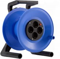 K0Y000T HEDI Катушка для удлинителя из пластика D=255мм/4GS/IP20/термозащита