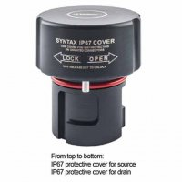 SPXDCS-SC-IP67 крышка для розетки панельной/кабельной IP67