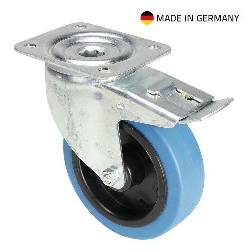 37036 Adam Hall Колесо поворотное 125 мм с тормозом