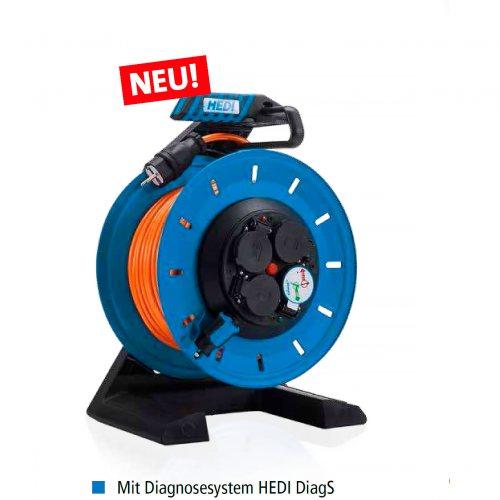 K7SR50QTF HEDI Удлинитель на катушке из пластика D=290мм/4GS/IP54/50м H07BQ-F3G1,5/термозащита