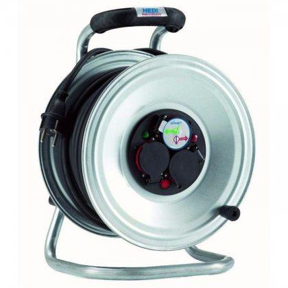 K2S40G2TF HEDI Удлинитель на катушке из металла D=290мм/3GS/IP44/40м H05RR-F3G2,5/термозащита
