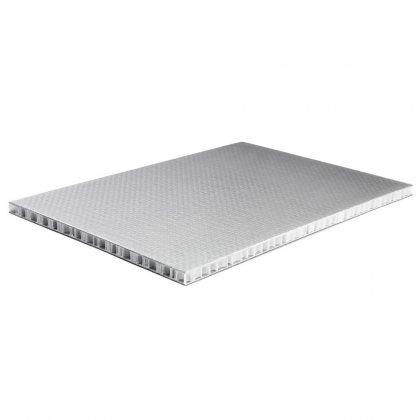 0590 Adam Hall Сэндвич-панель листовой PP черный-серебристый 9,5мм 2500x1250 мм