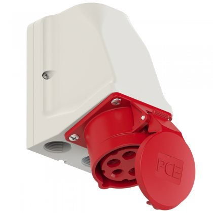 915-6 PCE Розетка настенная 16А/400V/3P+N+E/IP44