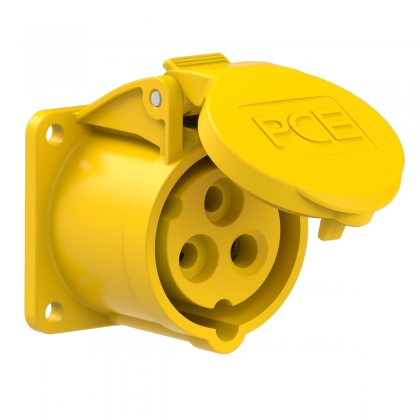 313-4f5 PCE Розетка встраиваемая 16А/110V/1P+N+E/IP44
