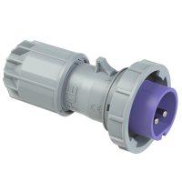 0722v PCE Вилка кабельная 32А/24V/2P/IP67, никелированные контакты