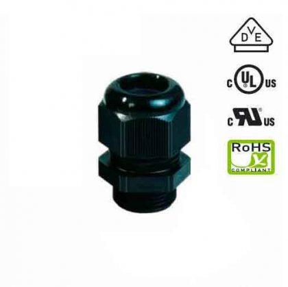 25250-3 Кабельный ввод пластик черный М50х1,5 без контрагайки