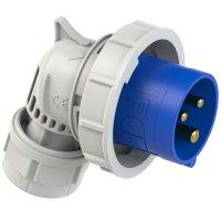 80132-6 PCE Вилка кабельная угловая 16А/230V/1P+N+E/IP67