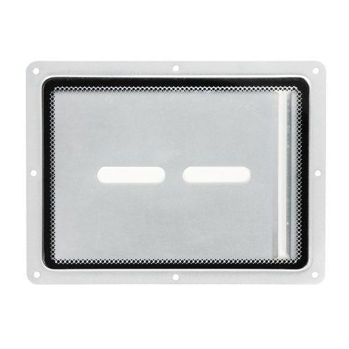 88200 Adam Hall Пластина из металла со прозрачной вставкой из оргстекла