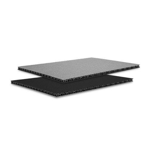 0568BG Adam Hall Сэндвич-панель листовой PP черный-серый 6,8мм 2500x1250 мм