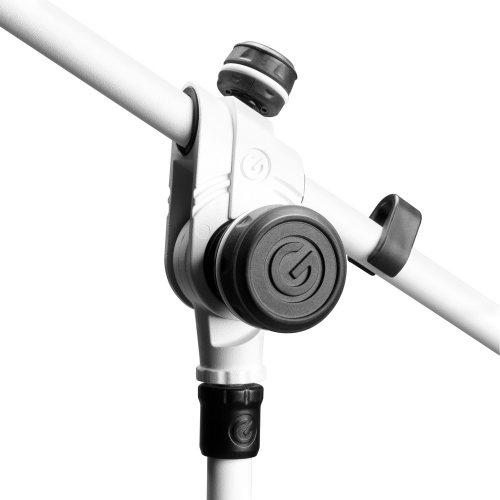 GMS4322W Gravity Подставка для микрофона со складным основанием штатива и 2-точечной регулировкой телескопической стрелы