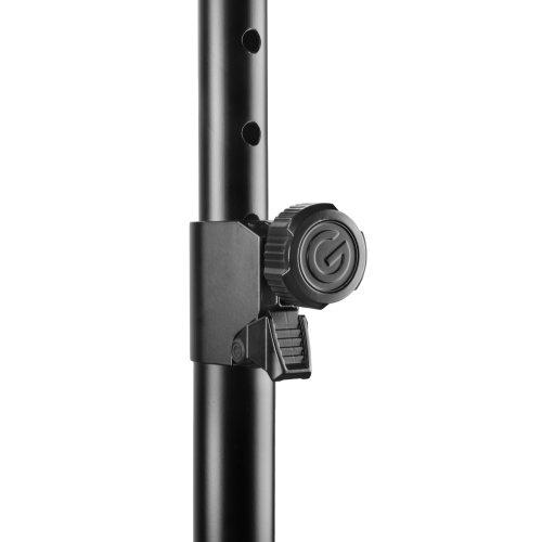 GTSP5212LB Gravity Стальная подставка для динамиков с автоматическим стопорным штифтом