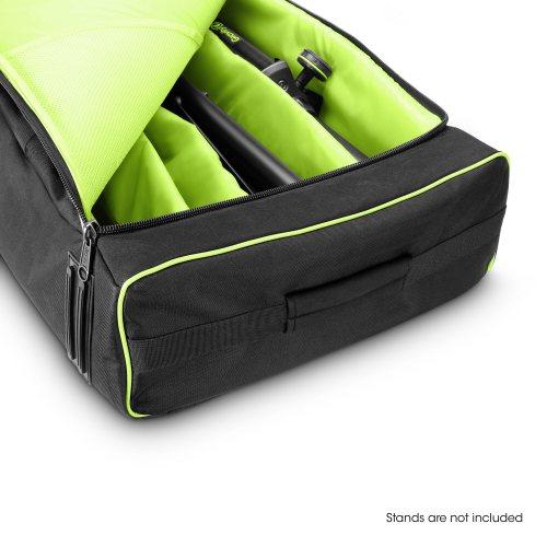 GBGSS2MS2B Gravity Транспортная сумка для 2 динамиков и 2 микрофонных подставок