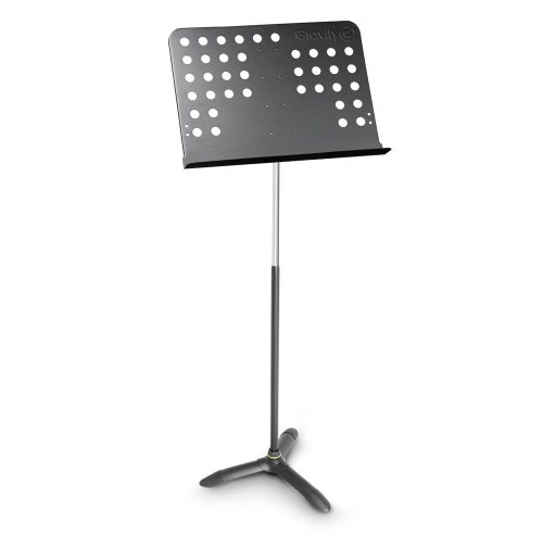 GNSORC2L Gravity Пюпитр оркестровый высокий с перфорированным столом