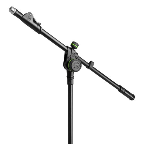 GMS4322B Gravity Подставка для микрофона со складным основанием штатива и 2-точечной регулировкой телескопической стрелы