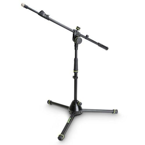 GMS4222B Gravity Короткая Подставка для микрофона со Складным Основанием штатива и 2-Точечной регулировкой Телескопической Стрелы