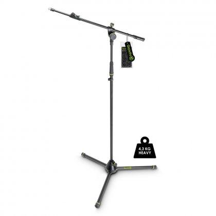 GMS4322HDB Gravity Подставка для микрофона усиленная со штативом и 2-точечной телескопической стрелой