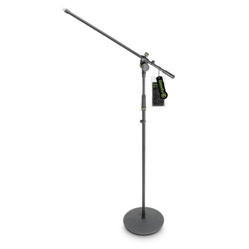 GMS2321B Gravity Подставка для микрофона с круглым основанием и 2-точечной регулировочной стрелой