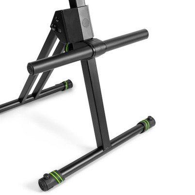 GFMSEAT1BR Gravity Регулируемый по высоте табурет с ножкой и спинкой