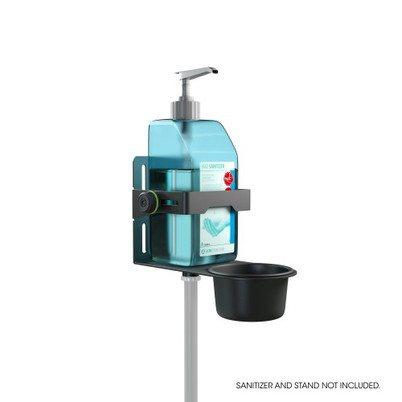 GMADIS01B Gravity Универсальный держатель дезинфицирующего средства черный