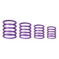 GRP5555PPL1 Gravity Универсальный комплет колец фиолетовый