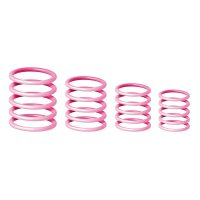 GRP5555PNK1 Gravity Универсальный комплет колец розовый