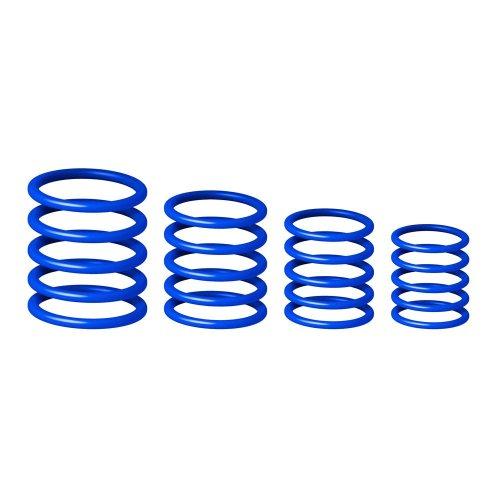 GRP5555BLU2 Gravity Универсальный комплет колец синий