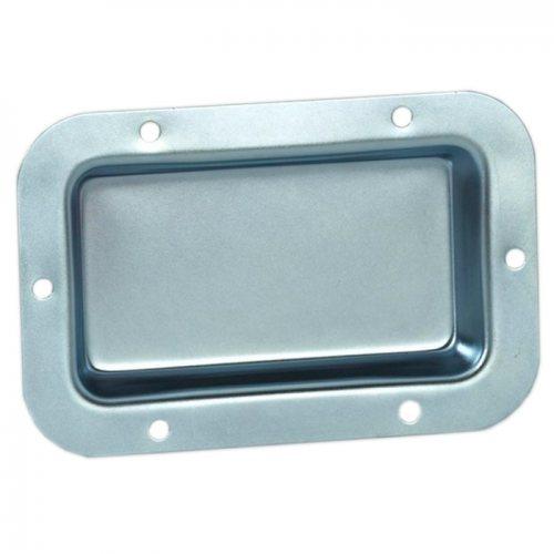 8705 Вставка оцинкованная Adam Hall, материал: сталь, толщина 1мм