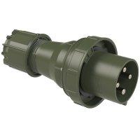 044-6.u PCE Вилка кабельная 125А/400V/3P+E/IP67, бронзово-зеленый
