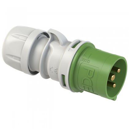 023-2 PCE Вилка кабельная 32А/50-500V/1P+N+E/IP44