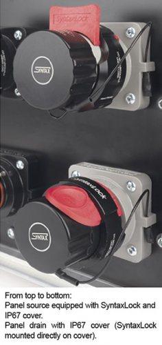 SPXDCD-SC-IP67 крышка для вилки панельной/кабельной IP67