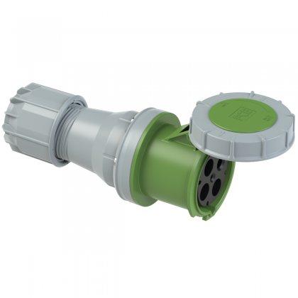 244-2 PCE Розетка кабельная 125А/50-500V/3P+E/IP67