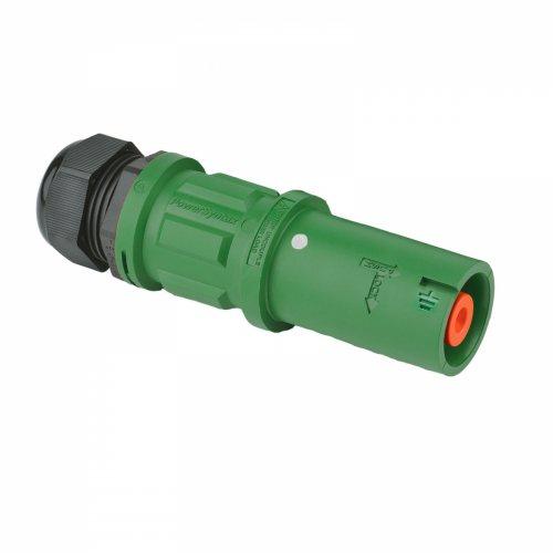 SPZ4LSEGN120MP SPZ 400А розетка кабельная Earth, зеленая