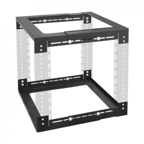 87700 19-дюймовая монтажная рама, материал сталь, цвет черный Adam Hall