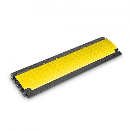 85150 Defender NANO 6-канальнаый легкий и профессиональный кроссовер наименьшего размера (100х28х3,2сm), диаметр каналов 1,7 сm, желтое накрытие Adam Hall
