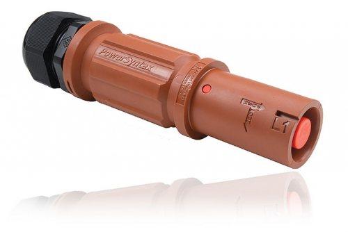 SPX4LS1RD120MP розетка кабельная L1, красная (UK)