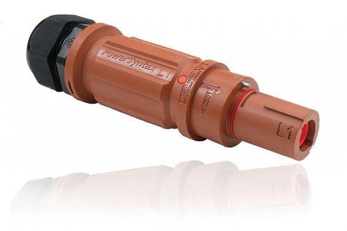 SPX4LD1RD120MP SPX 400А вилка кабельная L1, красная (UK)
