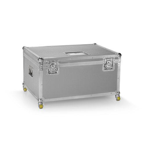 0568SB Сэндвич-панель пластик PP серебристый-черный  6,8 мм, 2500x1250 мм, Adam Hall