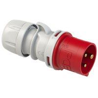 013-9 PCE Вилка кабельная 16А/400V/1P+N+E/IP44