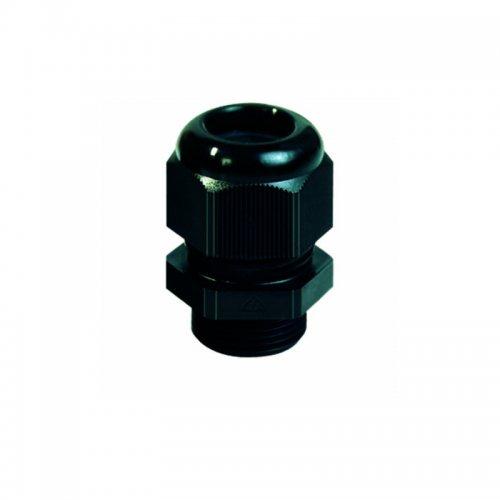 25212-3 Кабельный ввод пластик черный М12х1,5 без контрагайки