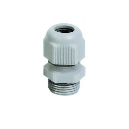 25263-2 Кабельный ввод пластик серый М63х1,5 без контрагайки