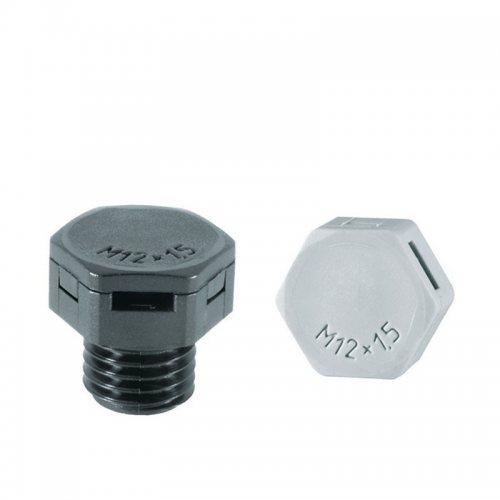 M12Druck-1 Винт выравнивания давления серый M12х1,5
