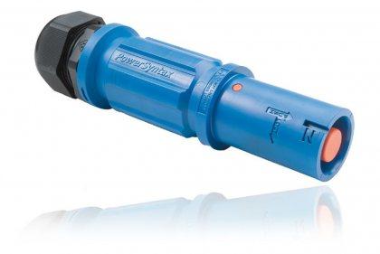 SPX7LSNBL240MU SPX 750А розетка кабельная Neutral, синяя, под сальник М50, обжим кабеля от 30 до 38мм