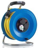 K2Y25U2TF HEDI Удлинитель на катушке из пластика D=290мм/3GS/IP44/25м AT-N07V3V3-F3G2,5/термозащита