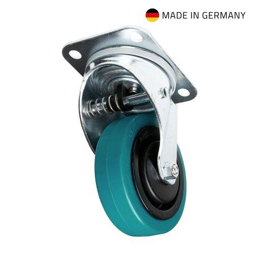 37037 Adam Hall Колесо поворотное 100 мм с автовыравниваем