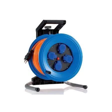 K350QTFE HEDI Удлинитель на катушке из пластика D=320мм/4GS/IP44/50м H07BQ-F3G1,5/термозащита