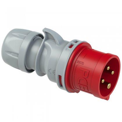 024-6tt PCE Вилка кабельная 32А/400V/3P+E/IP44, безвинтовое подключение