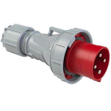 034-6 PCE Вилка кабельная 63А/400V/3P+E/IP67
